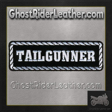 Tailgunner Motorcycle Biker Vest Patch - SKU GRL-PPD1013-HI - Ghost Rider Leather