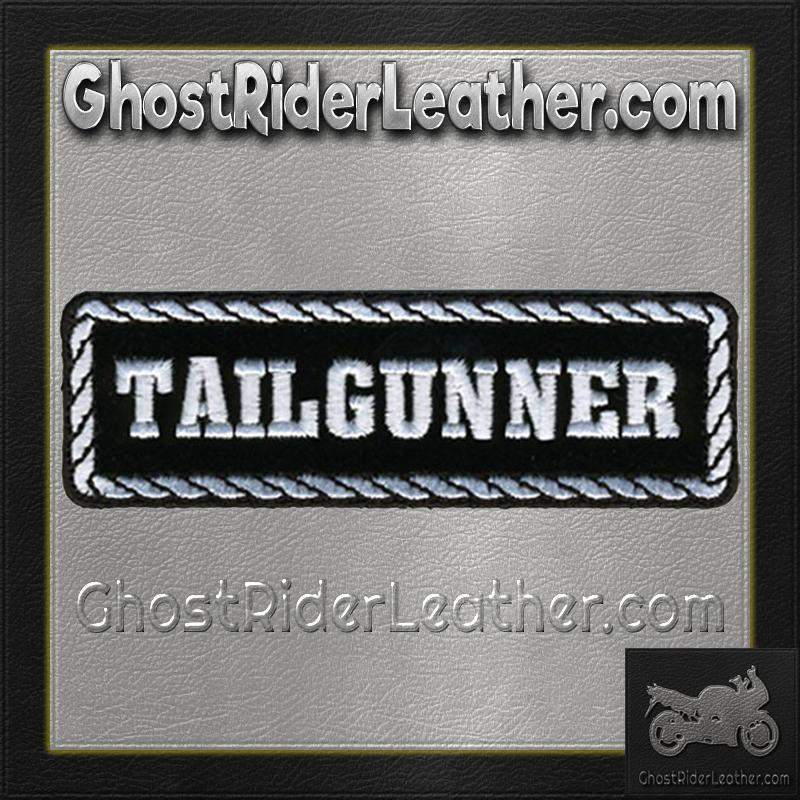 Tailgunner Motorcycle Biker Vest Patch - SKU GRL-PPD1013-HI-biker patch-Ghost Rider Leather