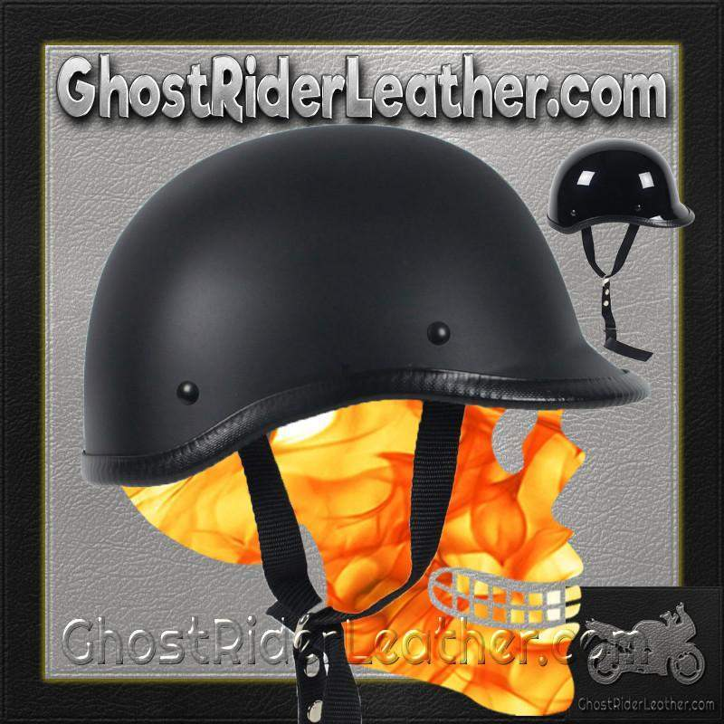 Polo Jockey Novelty Motorcycle Helmet Flat or Gloss / SKU GRL-POLO-NOV-HI