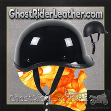 Polo Jockey Novelty Motorcycle Helmet Flat or Gloss / SKU GRL-POLO-NOV-HI-novelty motorcycle helmet-Ghost Rider Leather