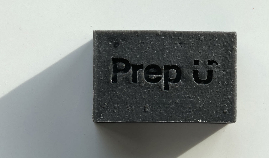Prep U Charcoal Unscented Bar great for face
