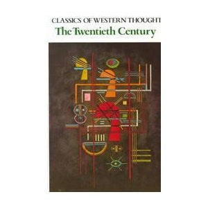Classics of Western Thought: The Twentieth Century, Volume IV