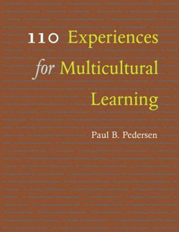 110 Experiences for Multicultural Learning
