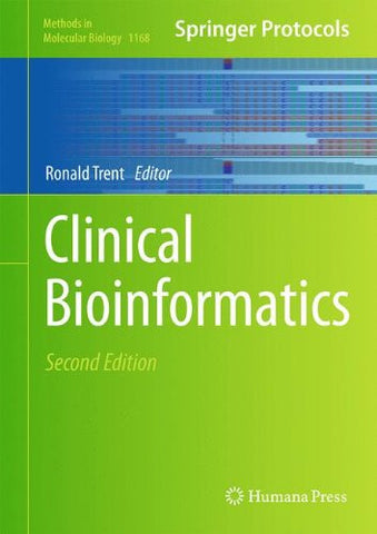 Clinical Bioinformatics (Methods in Molecular Biology)