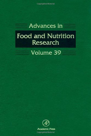 Advances in Food and Nutrition Research, Vol. 39