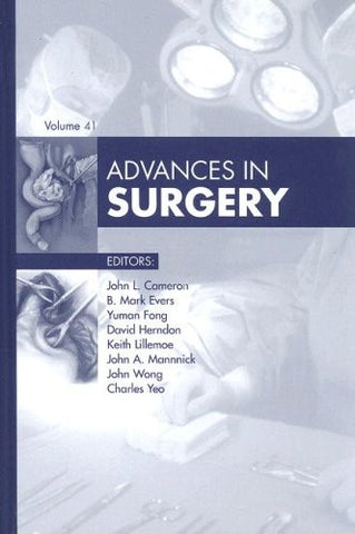 Advances in Surgery, 1e