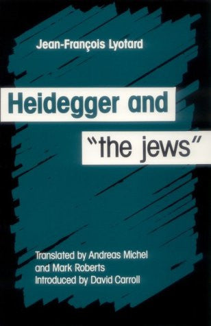 "Heidegger and ""the Jews"""