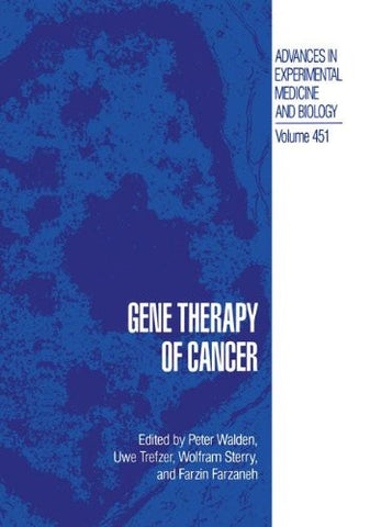 Gene Therapy of Cancer (Advances in Experimental Medicine and Biology)