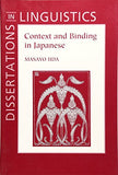 Context and Binding in Japanese (Dissertations in Linguistics)