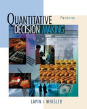 Quantitative Decision Making with Spreadsheet Applications (with CD-ROM)