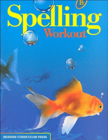 SPELLING WORKOUT HOMESCHOOL BUNDLE LEVEL B COPYRIGHT 2002