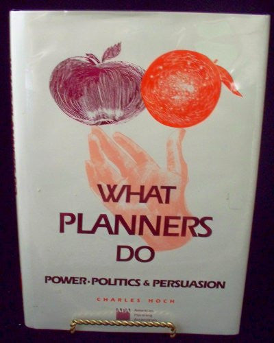 What Planners Do: Power, Politics, and Persuasion