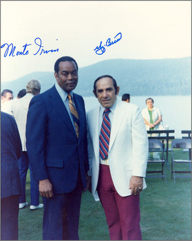 Yogi Berra and Monte Irvin Signed Photograph
