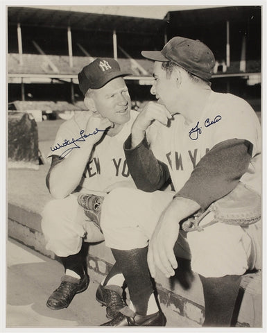 Yogi Berra & Whitey Ford Signed Photograph