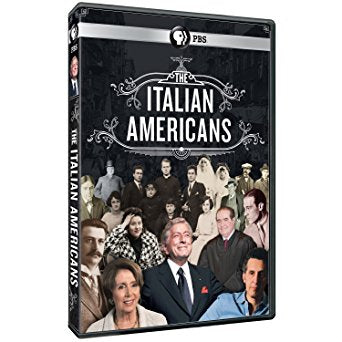 The Italian Americans (PBS) Documentary DVD