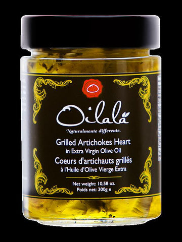 Grilled Artichoke in Extra Virgin Olive Oil