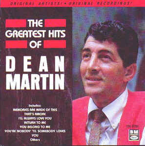 The Greatest Hits of Dean Martin CD