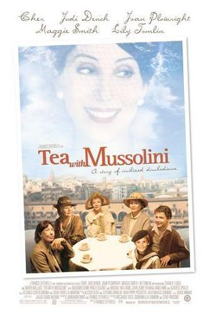 Tea with Mussolini DVD