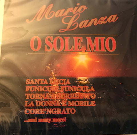 Mario Lanza O Sole Mio CD