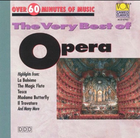 The Very Best of Opera CD