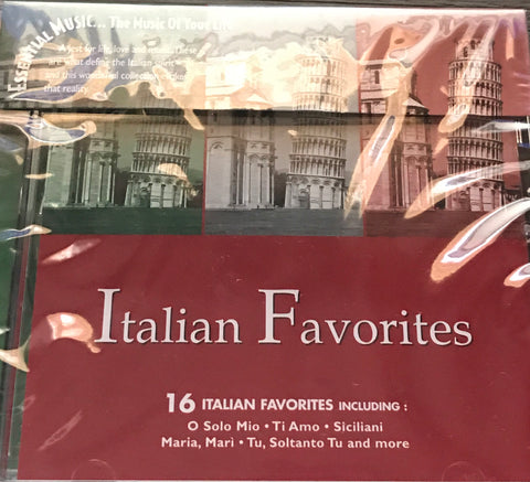 Italian Favorites CD
