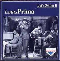 Louis Prima Let's Swing It CD