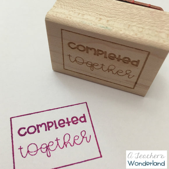 Completed Together Stamp