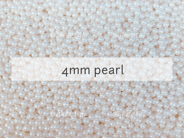 dragees pearl 4mm