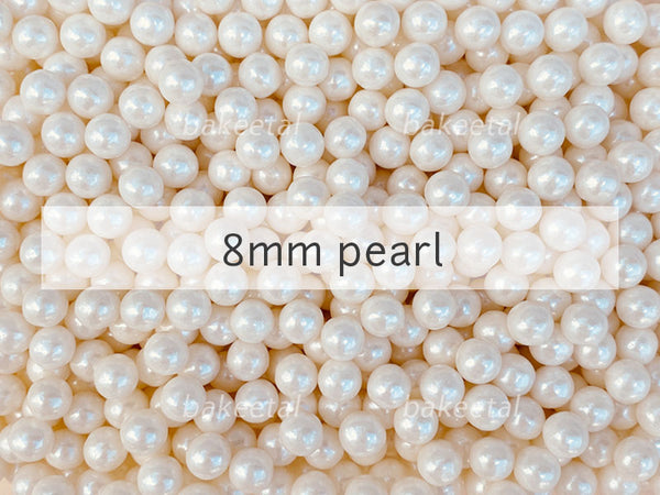dragees pearl 8mm
