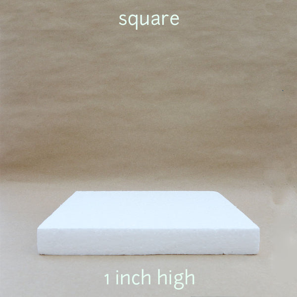 square dummy 1 inch height