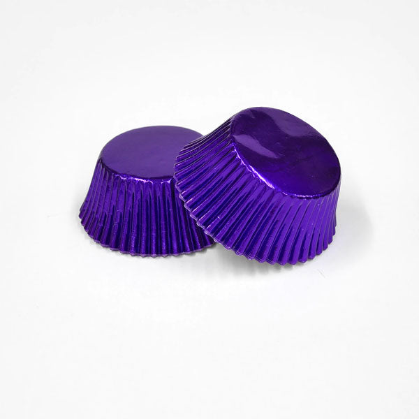 cupcake liner foil purple (120pcs approx)
