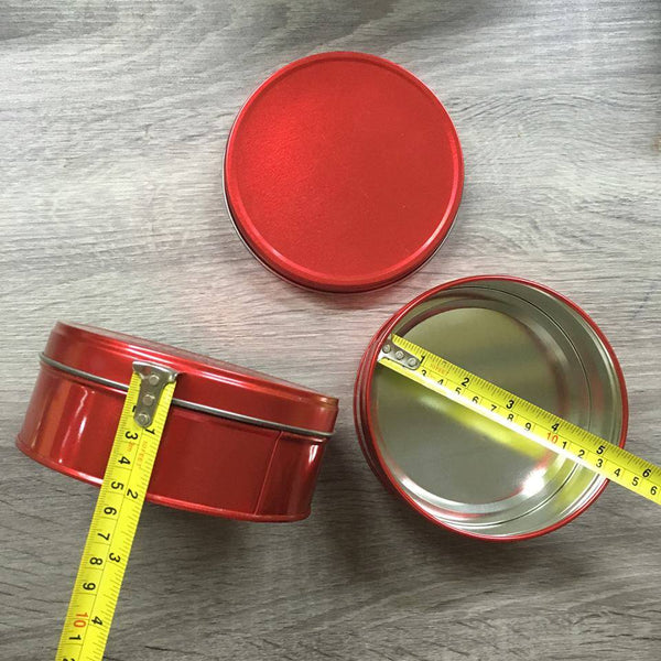 tin can 5x2 red