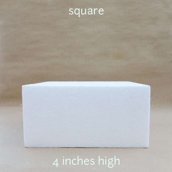 square dummy 4 inches height