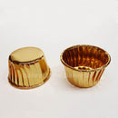 baking cups gold foil 100s