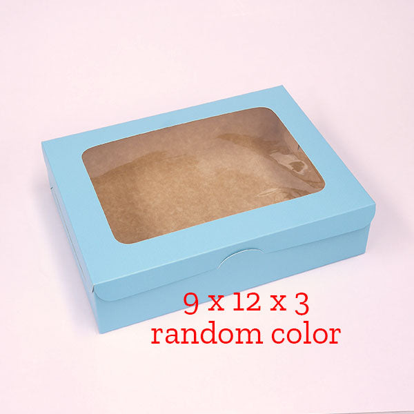 9 x 12 x 3 preformed box RANDOM COLOR