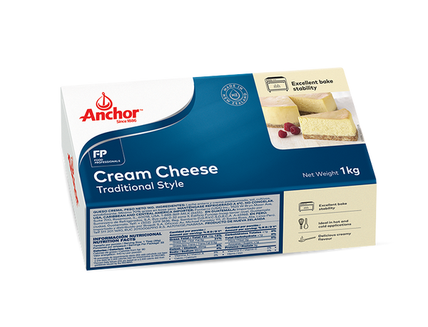 creamcheese 1kg, anchor (product may melt during transit)