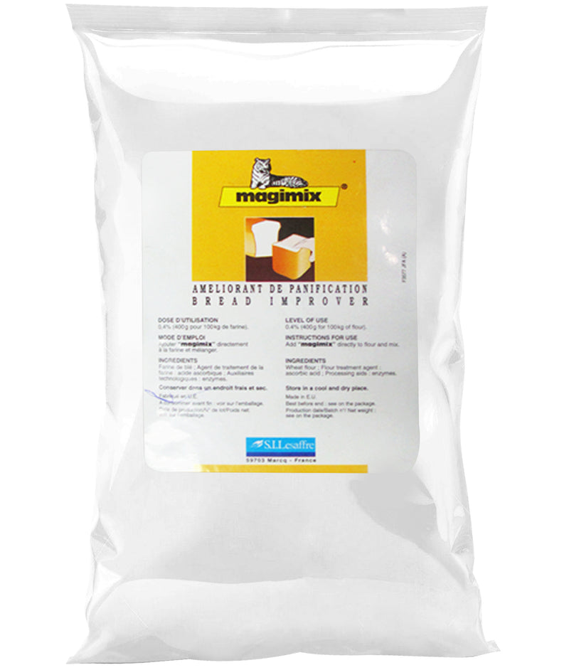 bread improver 500g, magimix yellow