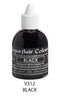 black airbrush color 60ml, sugarflair