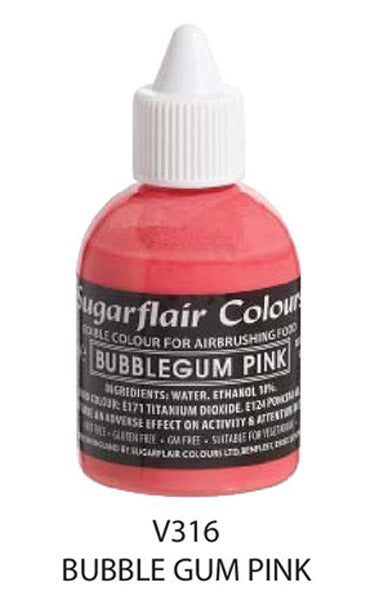 bubble gum pink, sugarflair