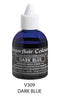 dark blue airbrush color 60ml, sugarflair