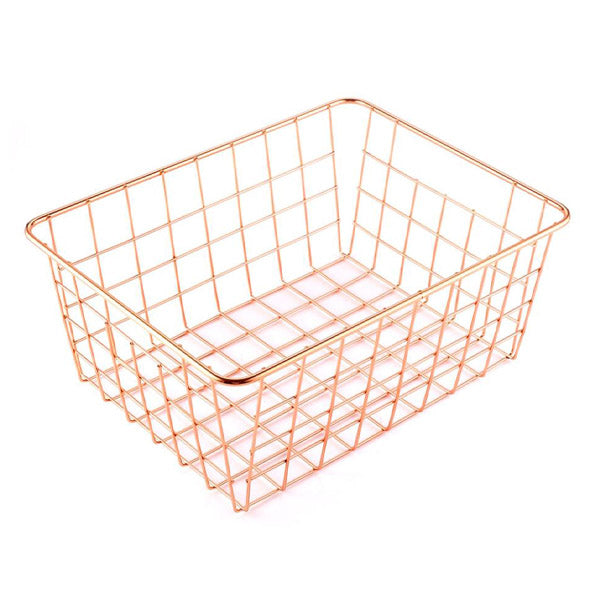 antipolo rose gold wire basket