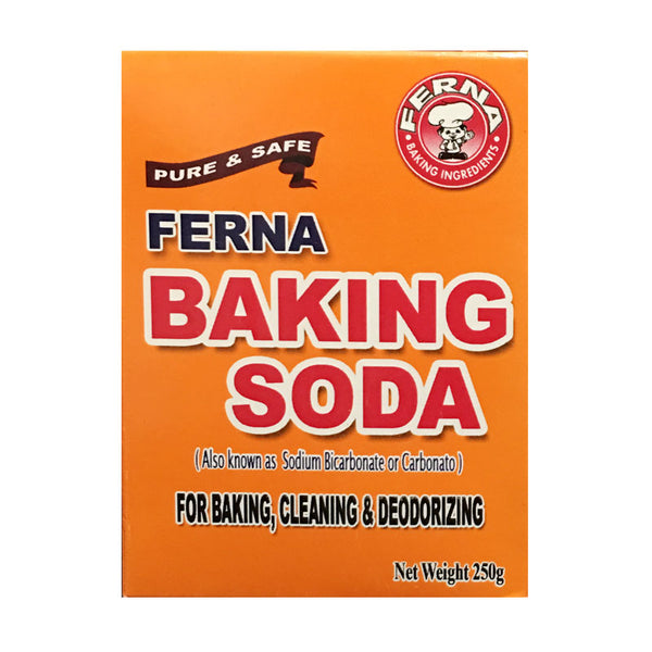 baking soda, ferna