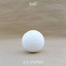 ball styro 2.5 inches (10pcs)
