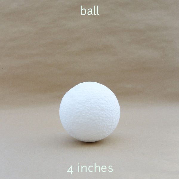 ball styro 4 inches (2pcs)