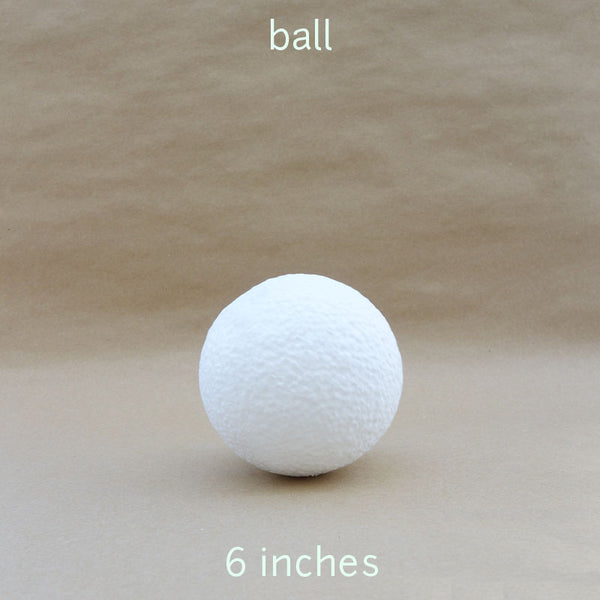 ball styro 6 inches