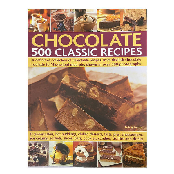 Book 500 classic choco recipes