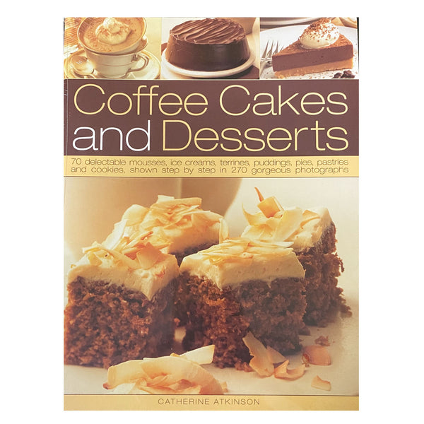 Book coffee cakes & dessert