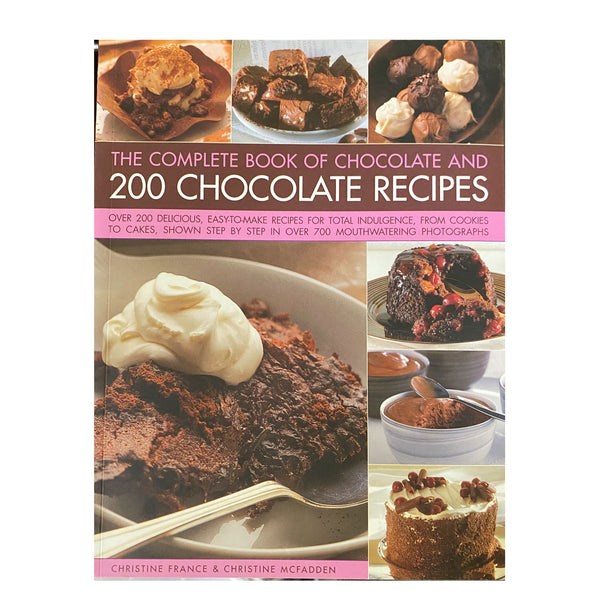 Book 200 choco recipes