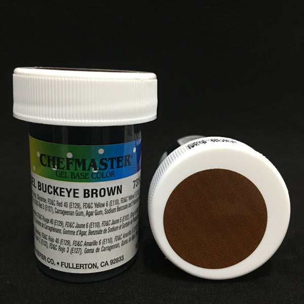 buckeye brown gel 1oz, chefmaster