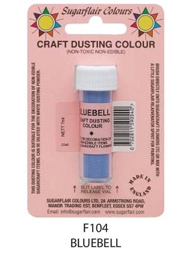 bluebell craft dust 7g, sugarflair